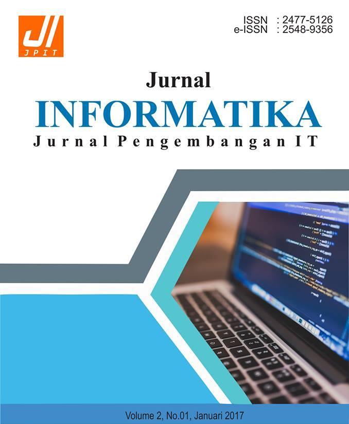 Jurnal Informatika Jurnal Pengembangan It